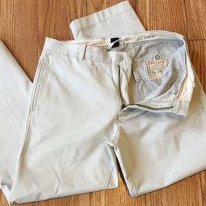 J. Crew Broken In Classic Fit Khaki Chino Pants